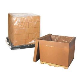 Clear Pallet Covers / Bin Liners, 48 x 34 x 60, 3-mil