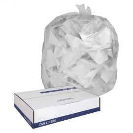 Clear Heavy Duty Can Liners - 24 x 32