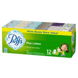 Puffs Plus Lotion Facial Tissue (116sh, 12ct.)