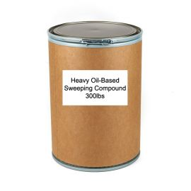 Heavy Oil-Based Sweeping Compound - 300lbs Drum