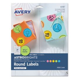Avery® Color Easy Peel® Labels