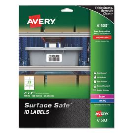 Avery® Surface Safe® ID Labels