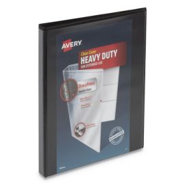 Avery® Heavy-Duty View Binder with DuraHinge® and Locking One Touch Slant Rings