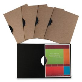 C-Line® Modern Metallic™ Executive Style Report Cover
