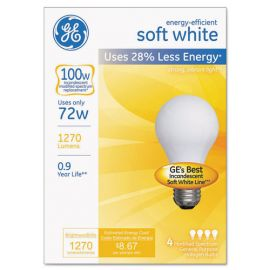 GE Dimmable Halogen A-Line Bulb