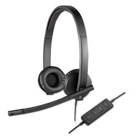Logitech® USB H570e Over-the-Head Wired Headset