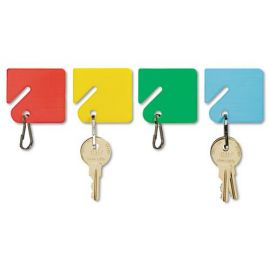 SteelMaster® Slotted Rack Key Tags