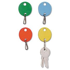 SteelMaster® Oval Snap-Hook Key Tags