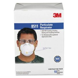 3M™ Particulate Respirator 8511, N95 with 3M™ Cool Flow™ Exhalation Valve