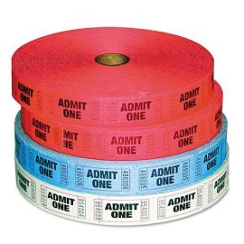 "PM Company® ""Admit-One"" Ticket Multi-Pack"