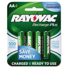 Rayovac® Recharge Plus NiMH Batteries