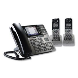 RCA® Unison 1-4 Line Wireless Phone System Bundle