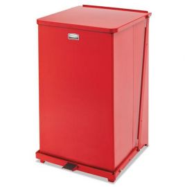 Rubbermaid® Commercial Defenders® Square Step Can