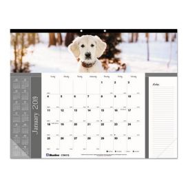 Brownline® Pets Collection Monthly Desk Pad