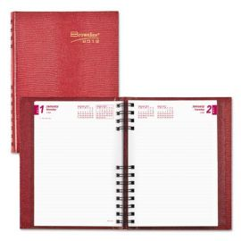 Brownline® CoilPro™ Ruled Daily Planner