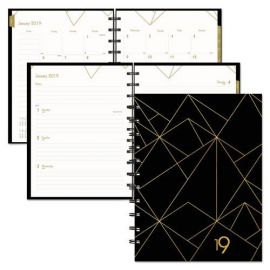 Blueline® Gold Collection Weekly/Monthly Planner