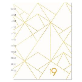 Blueline® Gold Collection Monthly Planner