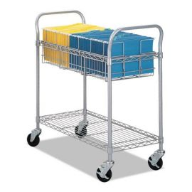 Safco® Wire Mail Cart