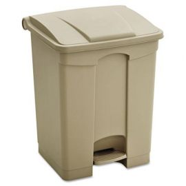 Safco® Large Capacity Plastic Step-On Receptacle