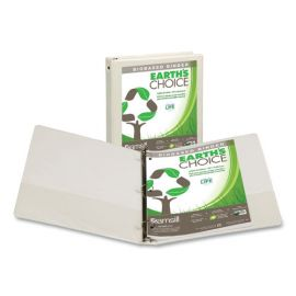 Samsill® Earth's Choice™ Biobased Economy Round Ring View Binders