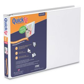 Stride QuickFit® Landscape Spreadsheet Round Ring View Binder