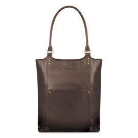 Solo Executive Leather/Poly Bucket Tote