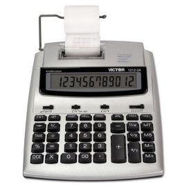 Victor® 1212-3A Antimicrobial Two-Color Printing Calculator