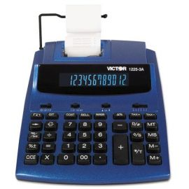 Victor® 1225-3A Antimicrobial Two-Color Printing Calculator