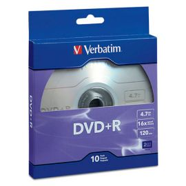 Verbatim® DVD+R Recordable Disc