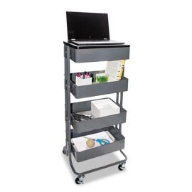 Vertiflex® Adjustable Multi-Use Storage Cart and Stand-Up Workstation