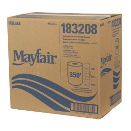 MAYFAIR® Natural Hard Wound Roll Towel 350'