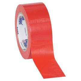 Tape Logic® Solid Vinyl Safety Tape - Red