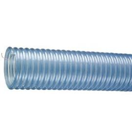 Tigerflex PVC Material Handling Hose w/ Static Wire - 1.25in I.D.